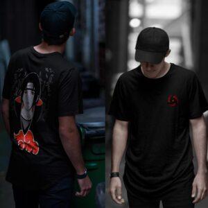 Camiseta de Naruto, Itachi Uchiha