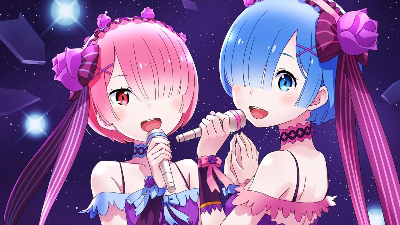 Re:Zero celebra el cumpleaños de Ram y Rem