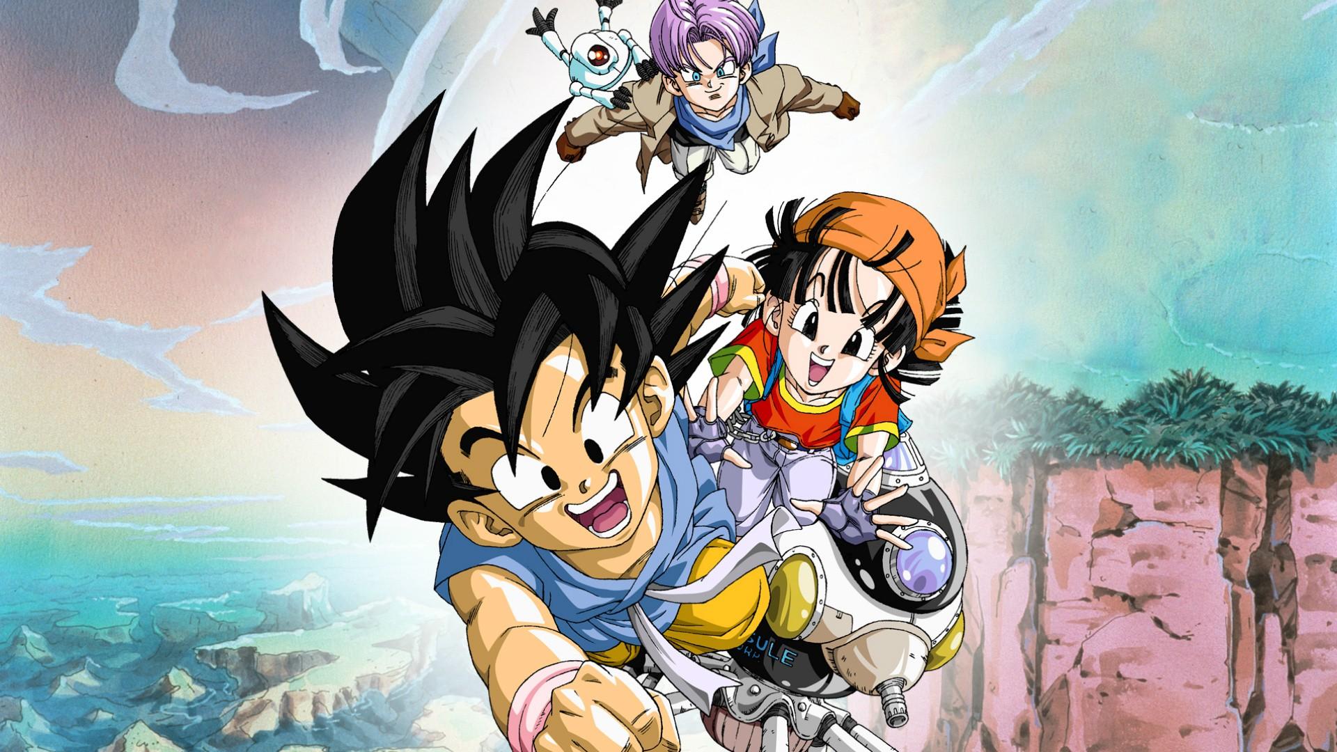 El anime Dragon Ball GT cumple 25 años