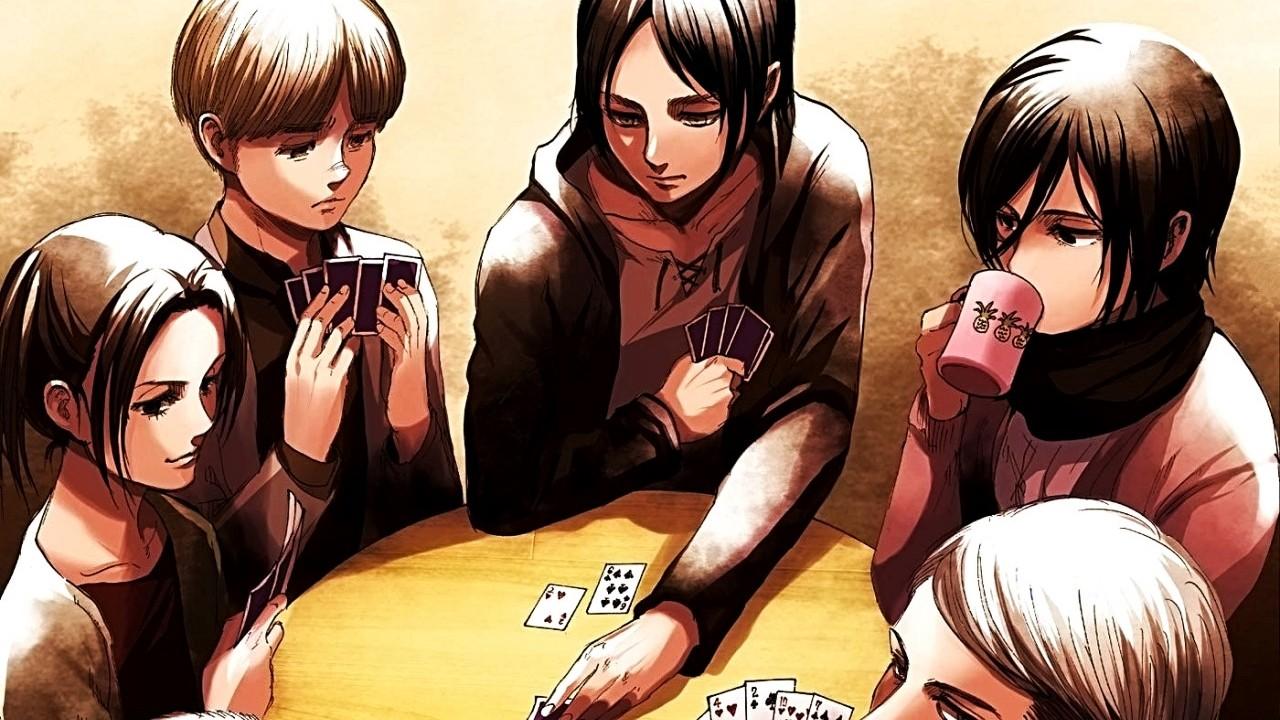 Kodansha revela los bocetos del capítulo más reciente de Shingeki no Kyojin
