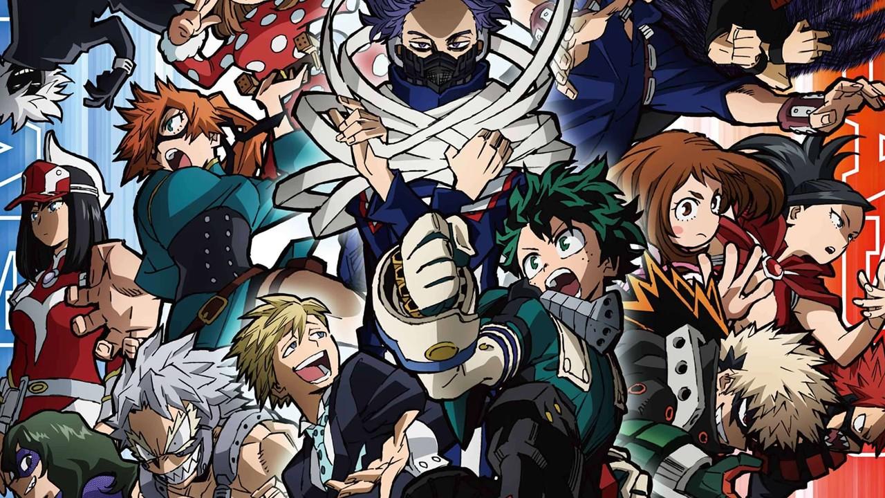 Se revela un nuevo visual para la quinta temporada de Boku no Hero Academia