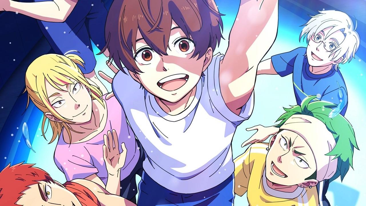 El anime original Bakuten!! revela un nuevo tráiler y su fecha de estreno