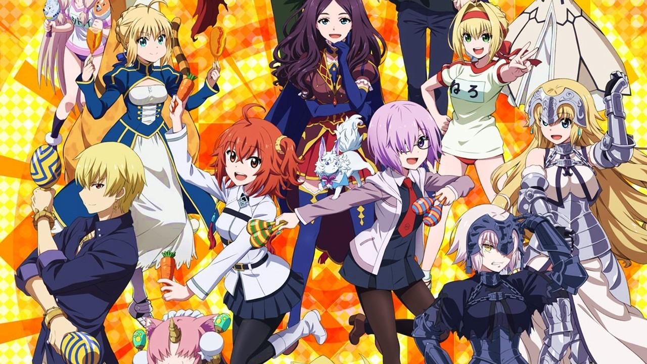 El proyecto de OVAs Fate/Grand Carnival completa su imagen promocional
